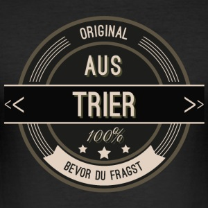 Original aus Trier 100% T-Shirts - Männer Slim Fit T-Shirt