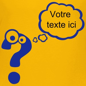 point interrogation bulle pense vide ajo Tee shirts - T-shirt Premium Enfant