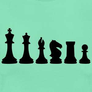 Chess, chess pieces T-shirts - T-shirt dam