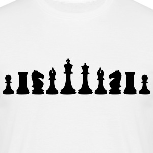 Chess, chess pieces T-Shirts - Men's T-Shirt