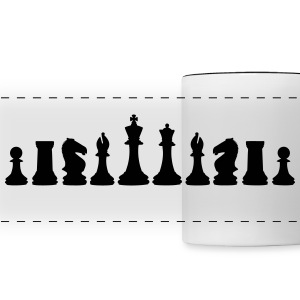 Chess, chess pieces Tazze & Accessori - Tazza con vista