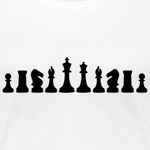 Chess, chess pieces T-shirts - Premium-T-shirt dam