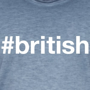 BRITISH T-Shirts - Men's Vintage T-Shirt