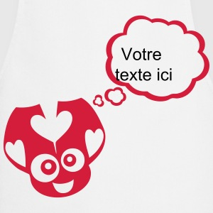 Ladybug bubble thinking blank add text  Aprons - Cooking Apron