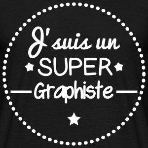 Super graphiste Tee shirts - T-shirt Homme