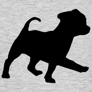 dog, puppy T-shirts - T-shirt herr