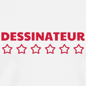 Dessin / Dessinateur / Drawing / Drawer Tee shirts - T-shirt Premium Homme