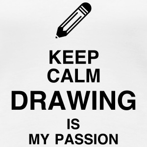 Dessin / Dessinateur / Drawing / Drawer Tee shirts - T-shirt Premium Femme