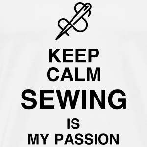 Sewing Sewer Couture Fashion Nähen Schneider T-Shirts - Men's Premium T-Shirt