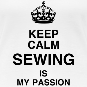 Sewing Sewer Couture Fashion Nähen Schneider T-Shirts - Women's Premium T-Shirt