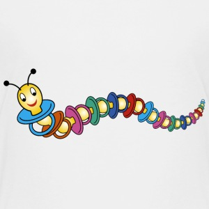 caterpillar / pacifier Shirts - Teenage Premium T-Shirt