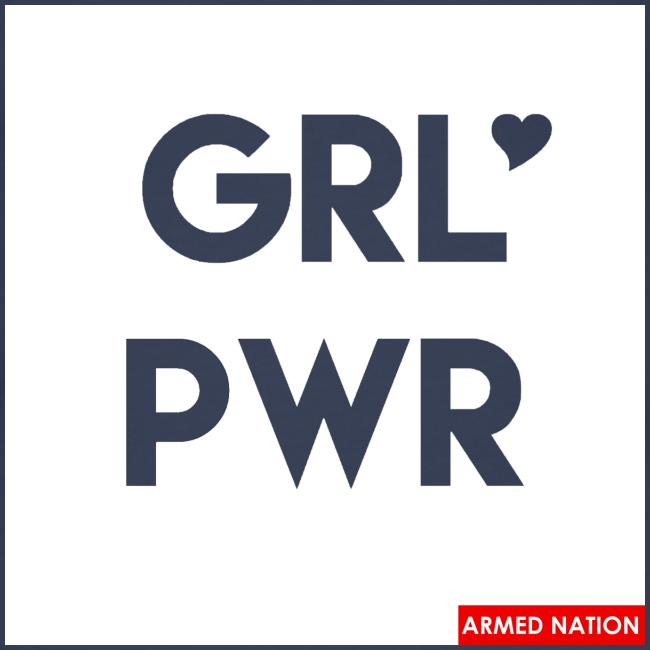 ARMED NATION GIRLIE TOP GRL PWR 2017