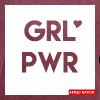 ARMED NATION GRL PWR 2017 - Frauen T-Shirt mit gerollten Ärmeln