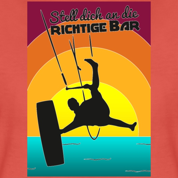 Richtige Bar Sundowner T-Shirts - Frauen Premium T-Shirt