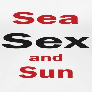 Sea sex and sun Tee shirts - T-shirt Premium Femme