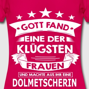 dolmetscherin T-Shirts - Frauen T-Shirt