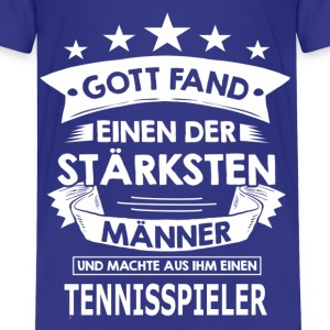 tennisspieler T-Shirts - Teenager Premium T-Shirt