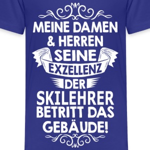 skilehrer T-Shirts - Teenager Premium T-Shirt