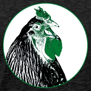 portrait of a cock T-Shirts - Men's Premium T-Shirt