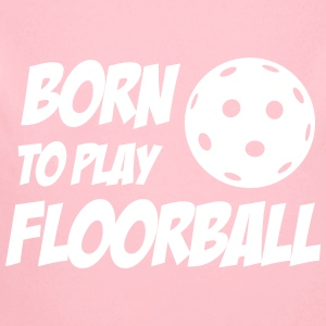 Born To Play Floorball Babybody - Baby Bio-Langarm-Body