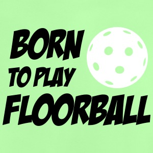 Born To Play Floorball Babytröjor - Baby T-shirt