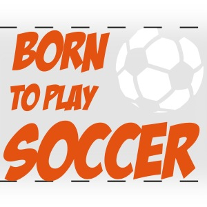Born to play Soccer Muggar & tillbehör - Tazza colorata con vista