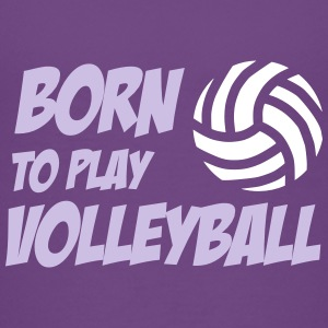 Born to play Volleyball T-shirts - Kids' Premium T-Shirt
