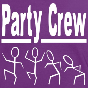 Party Crew  T-Shirts - Frauen Kontrast-T-Shirt