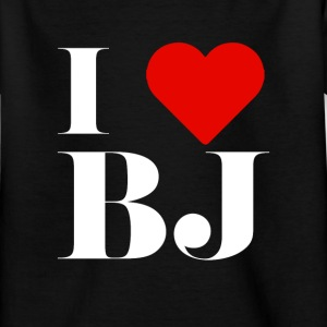 I LOVE BJ T-Shirts - Kinder T-Shirt