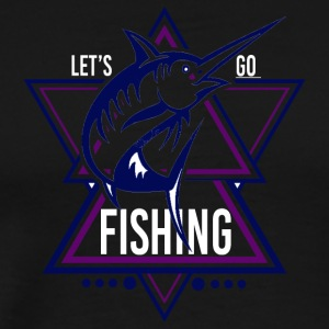 Lets go Fishing - We love Fishing!! - Männer Premium T-Shirt