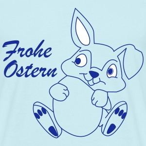 FROHE OSTERN - Happy Easter Bunny - Männer T-Shirt