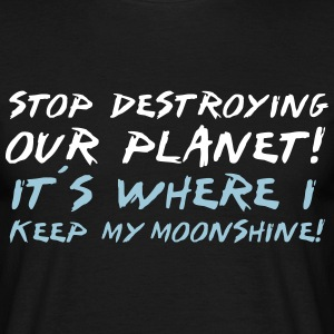 Planet Moonshine T-Shirts - Männer T-Shirt