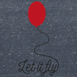 Siw7l let fly balloon T-Shirts - Women's V-Neck T-Shirt