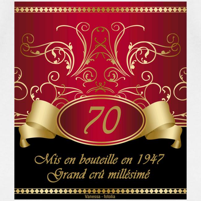 Grand cru 70 ans
