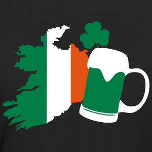 Ireland, irish beer, St Patricks Day T-shirts - Vrouwen Bio-T-shirt