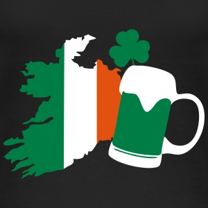 Irland, irish beer, St Patricks Day Tops - Camiseta de tirantes orgánica mujer