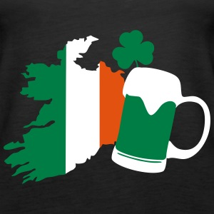 Irland, irish beer, St Patricks Day Tops - Women's Premium Tank Top