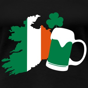 Irland, irish beer, St Patricks Day Camisetas - Camiseta premium mujer