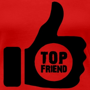 Top Friend - Frauen Premium T-Shirt