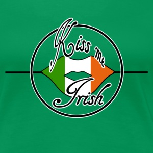Kiss me Irish - Frauen Premium T-Shirt
