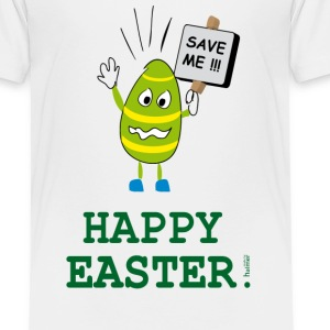 TShirt Kinder: Ostern: Happy Easter - Save the Egg - Kinder Premium T-Shirt