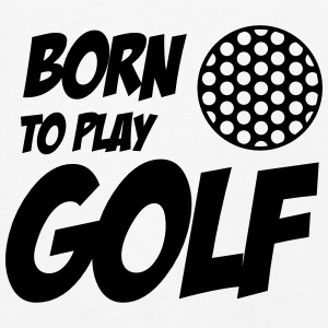 Born To Play Golf Långärmade T-shirts - Børne premium T-shirt med lange ærmer