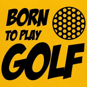 Born To Play Golf T-shirts - Teenage Premium T-Shirt
