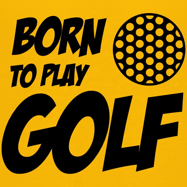 Born To Play Golf T-shirts - Maglietta Premium per ragazzi