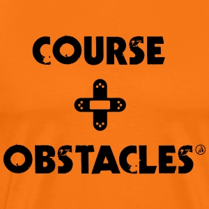 Course + Obstacles - T-shirt Premium Homme