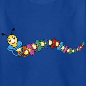 caterpillar / pacifier Shirts - Kids' T-Shirt