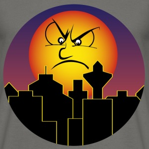 Bad Moon rising / Moon / City T-Shirts - Men's T-Shirt