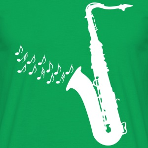 Saxophone / Jazz / Music T-Shirts - Men's T-Shirt