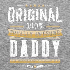 Original 100% Awesome Daddy - Männer Premium T-Shirt