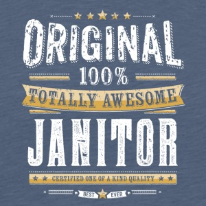 Original 100% Awesome Janitor - Männer Premium T-Shirt